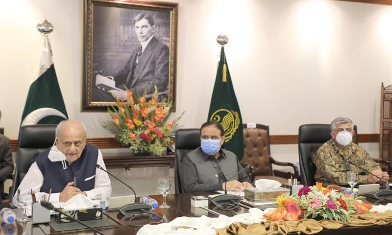 اجلاس میں وزیراعلیٰ پنجاب، وفاقی وزیر داخلہ و دیگر نے بھی شرکت کی—فوٹو: حکومت پاکستان