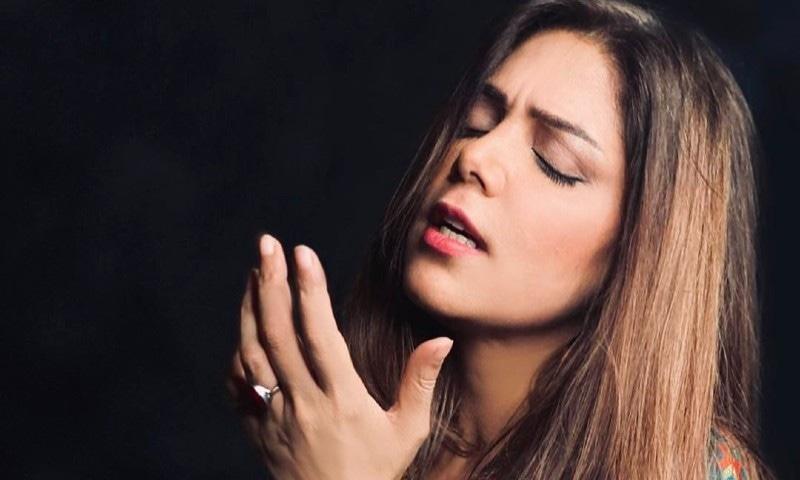 گانے کو کشمیر سے متعلق کام کرنے والی تنظیم کے تعاون سے جاری کیا گیا—فوٹو: انسٹاگرام