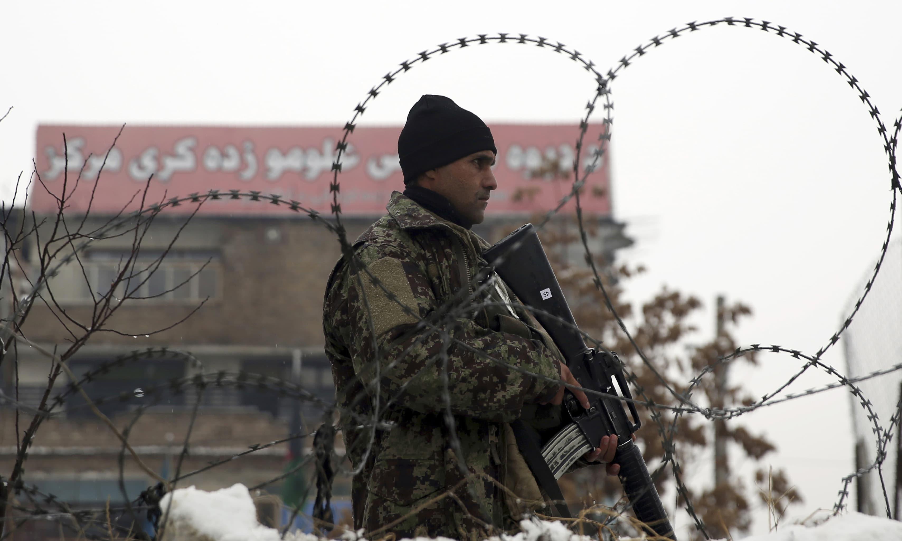 طالبان نے حملے کی ذمہ داری قبول کرلی — فائل فوٹو / اے ایف پی