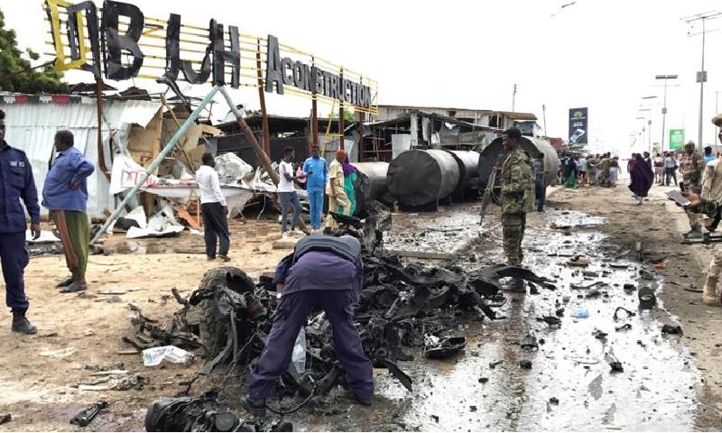 جنرل یوسف ریج 32 سال کی عمر میں صومالیہ کے آرمی چیف بنے—فوٹو:رائٹرز