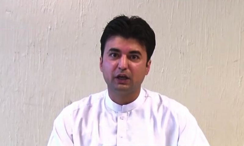 Communications Minister Murad Saeed challenged the PPP chief to face him in parliament or in a TV talk show or at a public meeting. — DawnNewsTV