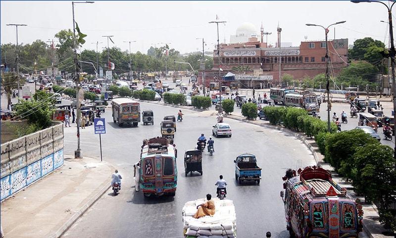 کراچی کی 'نمائش چورنگی' کا نام نمائش چورنگی کیسے پڑا؟
