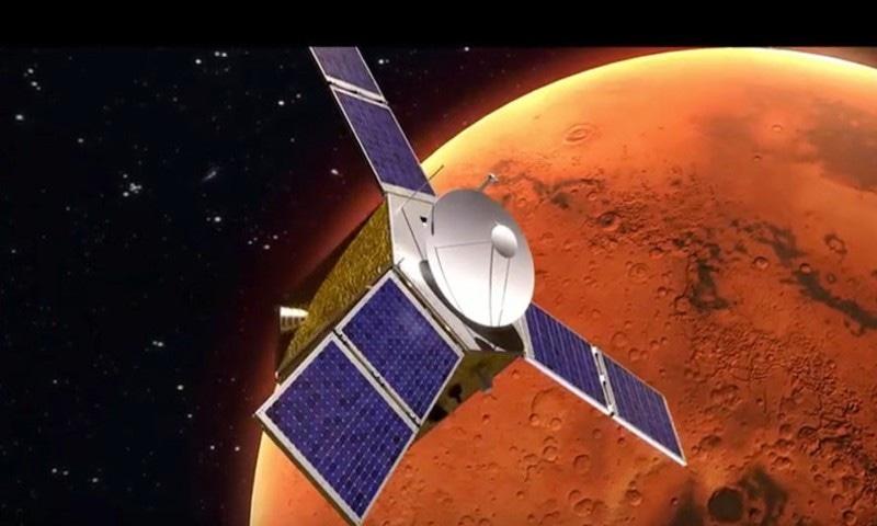 خلائی گاڑی ایک سال سفر کرنے کے بعد مریخ پر پہنچے گی—اسکرین شاٹ یوٹیوب