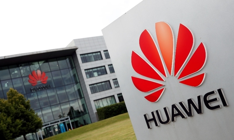 Huawei headquarters building is pictured in Reading, Britain July 14, 2020. — Reuters