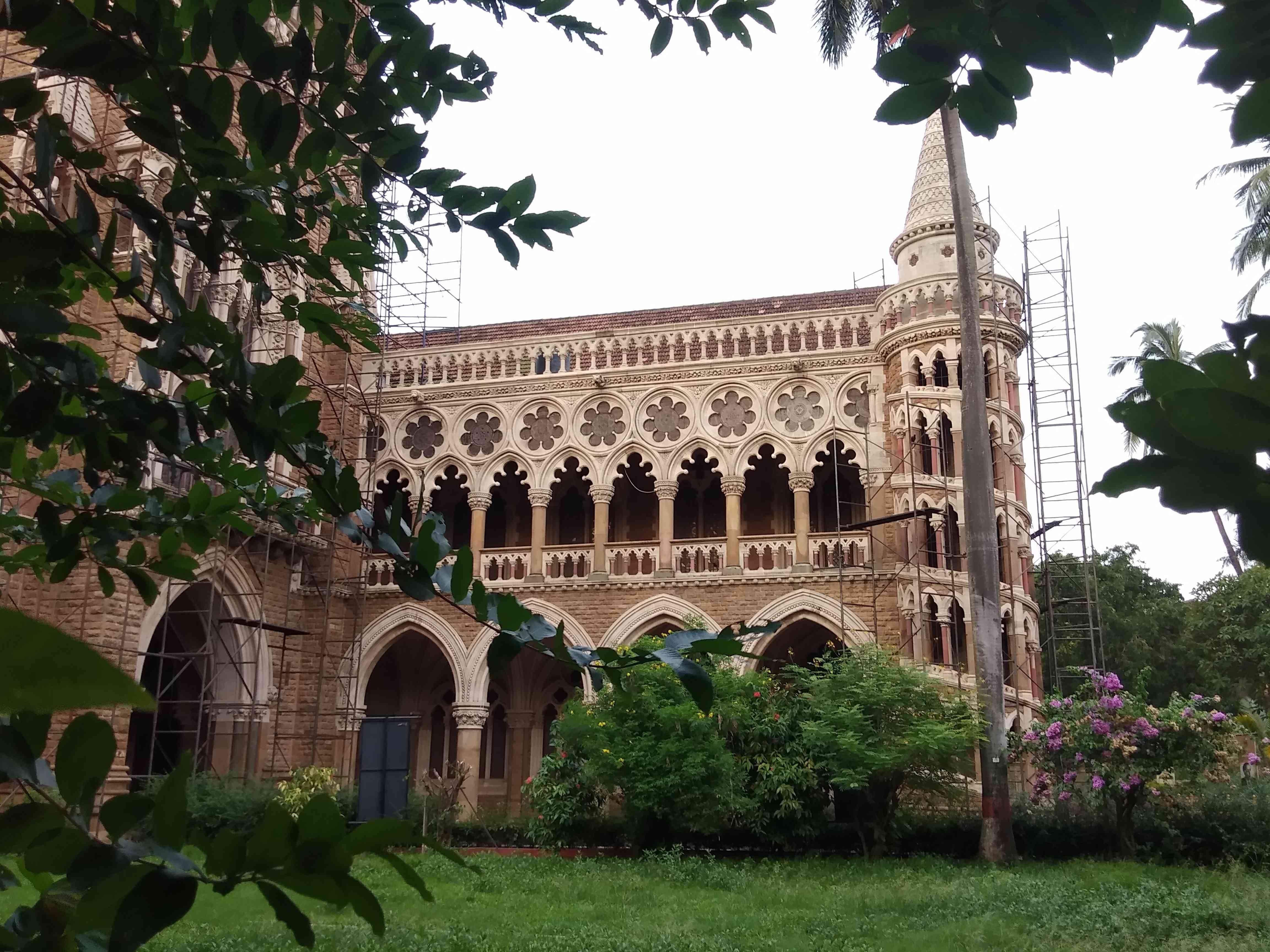 The library of the University of Mumbai. — Ganesh Raghuveer/Scroll.in