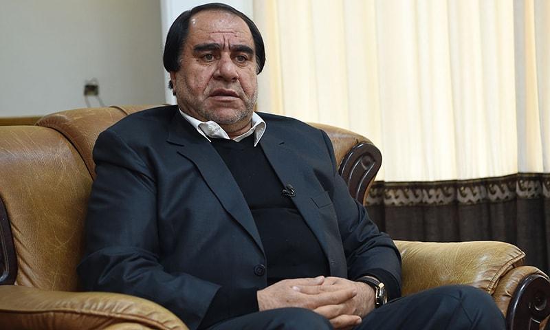 افغان فٹبال فیڈریشن کے سابق سربراہ کریم الدین کریم پر جنسی استحصال سمیت دیگر الزامات ہیں— فوٹو: اے ایف پی