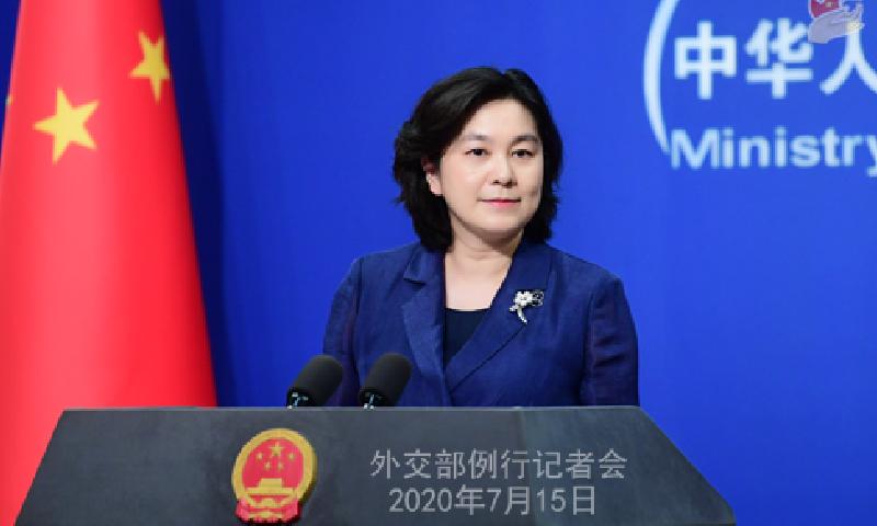 امریکا نے ہانگ کانگ پر اپنے فیصلے پر اصرار کیا تو مؤثر جواب ملے گا، چین