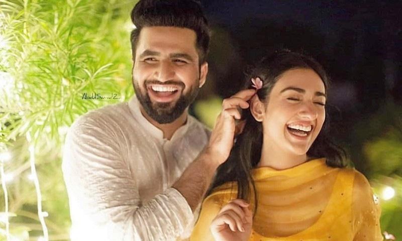سارہ خان اور فلک شبیر رشتہ ازدواج میں منسلک