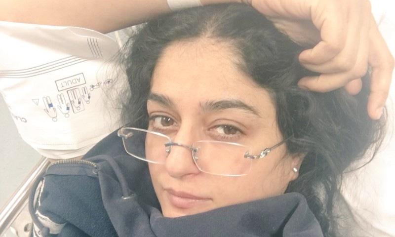 نادیہ جمیل ہسپتال سے ڈسچارج، کینسر سے آزاد، ذیابطیس کا شکار