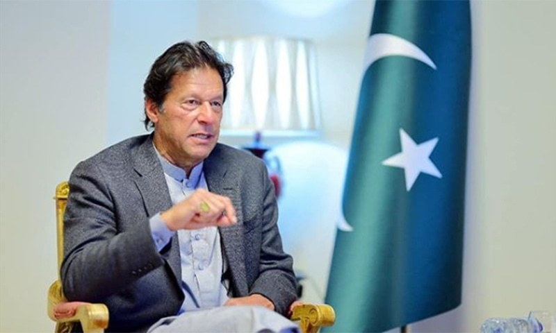 """Prime Minister Imran Khan says Pakistan is """"amongst the fortunate countries where Covid-19 cases  [...] have gone down"""". — PM Imran's Instagram account/File"""