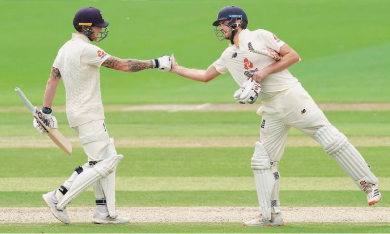 Stokes, Sibley put England on top in second West Indies Test