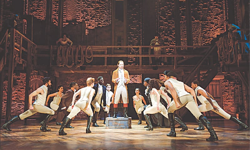 """Hamilton brings to stage (and now our screens) the story of Alexander Hamilton, America's """"10 dollar founding father"""""""