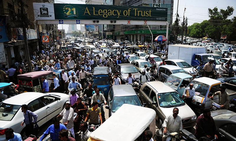 'پاکستان میں آبادی تیزی سے بڑھ رہی ہے'