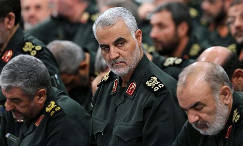 ایران نے قاسم سلیمانی کی مخبری کرنے والے کو پھانسی دے دی