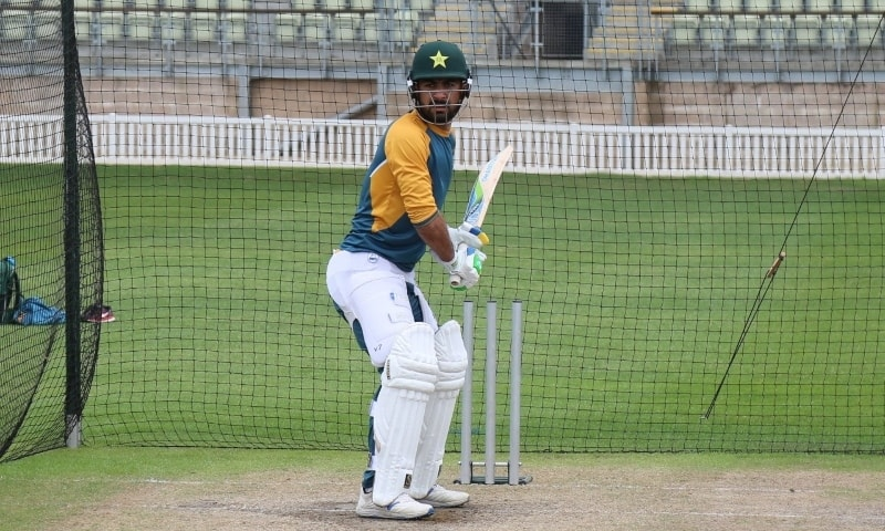 The PCB said all-rounder Khushdil Shah will miss the first Test against England with a fractured thumb. — Photo courtesy PCB