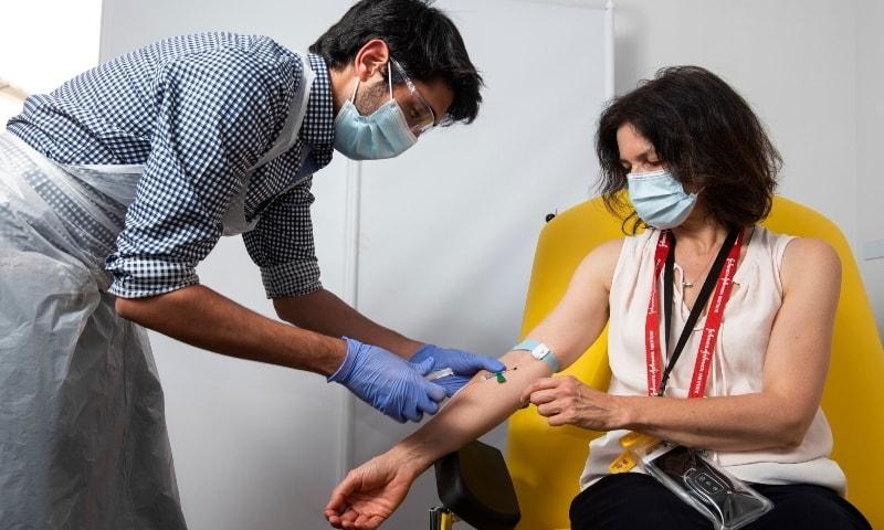 Two coronavirus vaccines 'produce immune response'