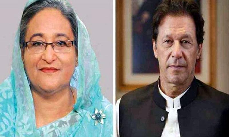 عمران خان نے شیخ حسینہ واجد کو مقبوضہ جموں وکشمیر کی سنگین صورتحال کے بارے میں پاکستان کے نقطہ نظر سے بھی آگاہ کیا۔ فائل فوٹو: ریڈیو پاکستان