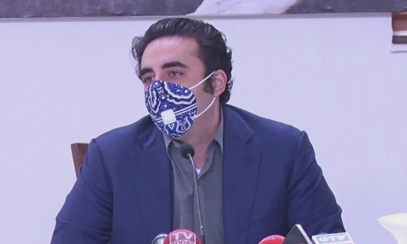 """PPP chief Bilawal Bhutto-Zardari said that his party never talked about """"minus one"""" and would never do so.   — DawnNewsTV/File"""
