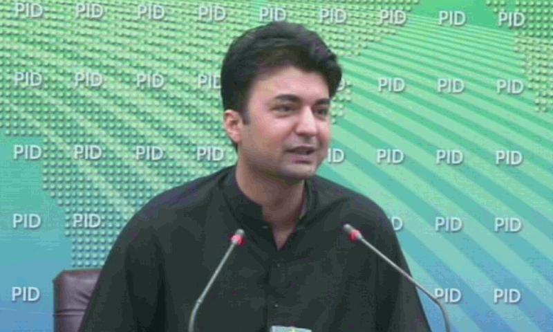 وفاقی وزیر مواصلات مراد سعید—تصویر: ڈان نیوز