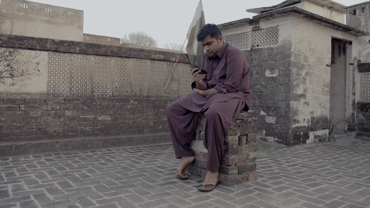 Farhan Virk posts a tweet from his rooftop | Courtesy Witness — Al Jazeera
