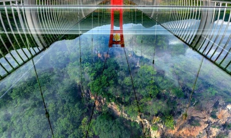 چین میں حیران کن تعمیراتی عجوبہ مکمل