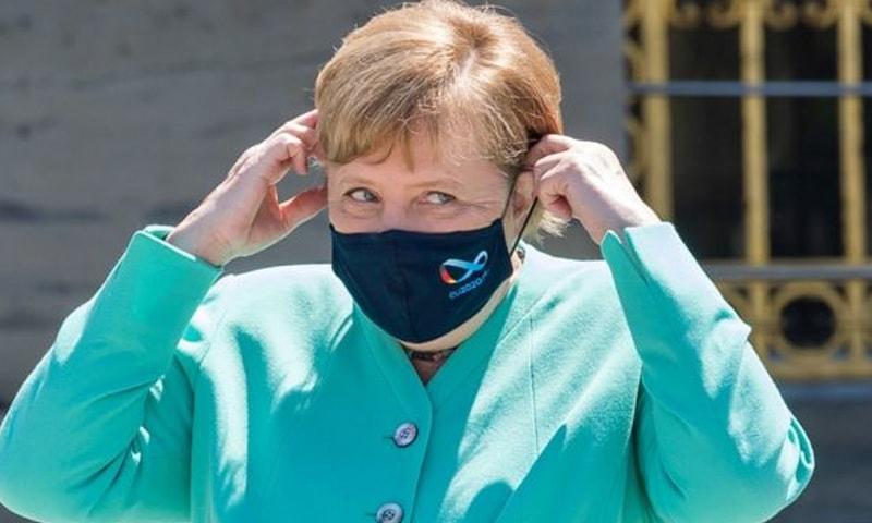 جرمنی کی چانسلر انجیلا مرکل—فوٹو: رائٹرز