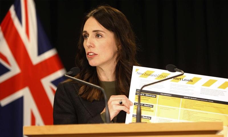 نیوزی لینڈ کی وزیراعظم جسینڈا آرڈرن—فوٹو: اے پی