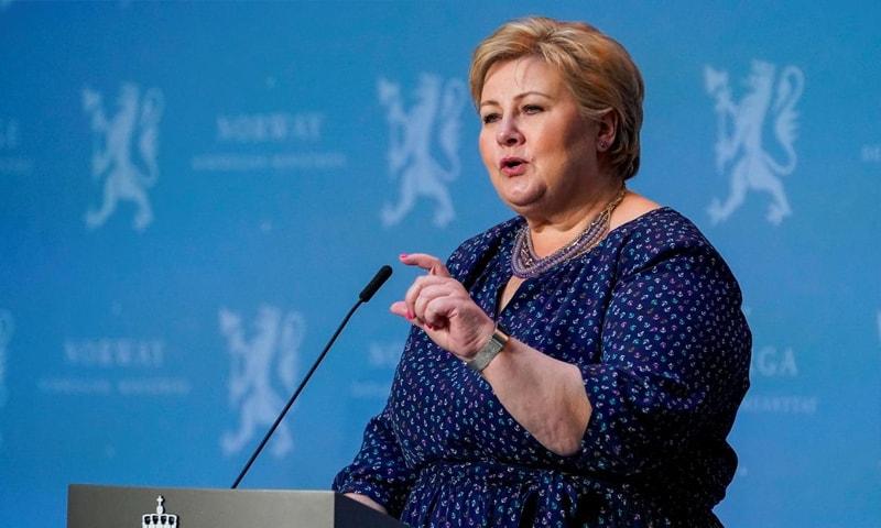 وزیراعظم ایرنا سولبرگ—فوٹو:رائٹرز