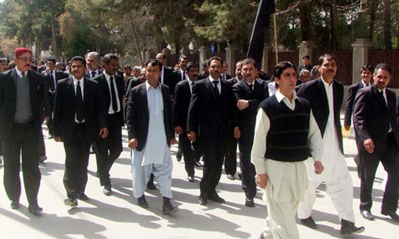 The Islamabad High Court Bar Association (IHCBA) also issued a press release against the proposed appointments and warned that the bar would not welcome the outsiders. — File photo