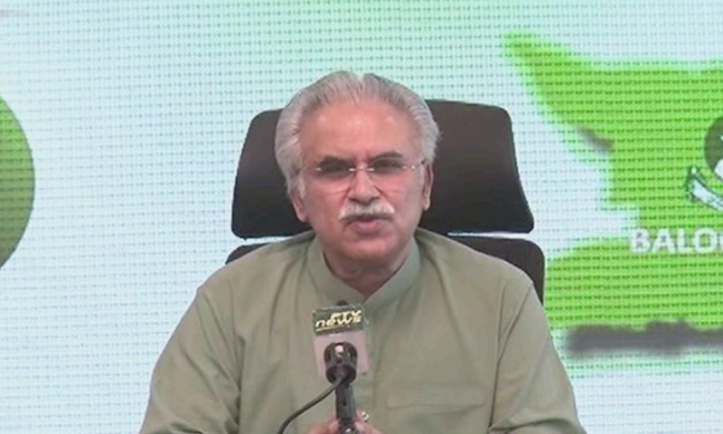 """SAPM Dr Zafar Mirza said that the government had """"learned from the last Eid's experience"""" and had started preparations earlier. — DawnNewsTV"""