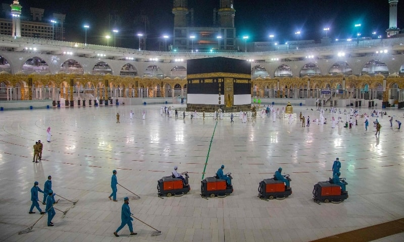 Technology infuses ancient Haj rites amid global pandemic