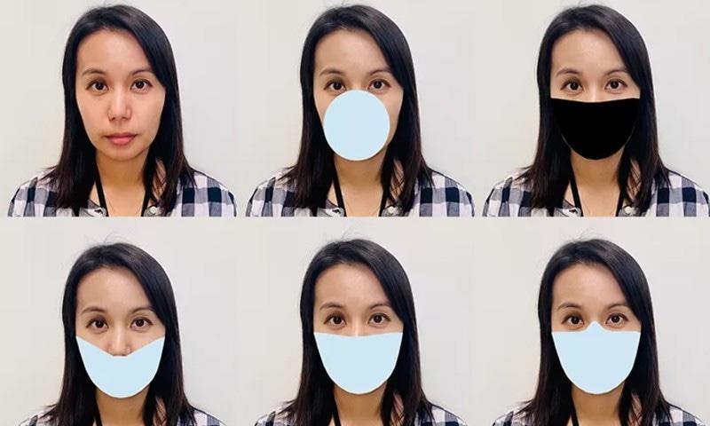 فیس ماسک کے استعمال کا عجیب دنگ کردینے والا اثر