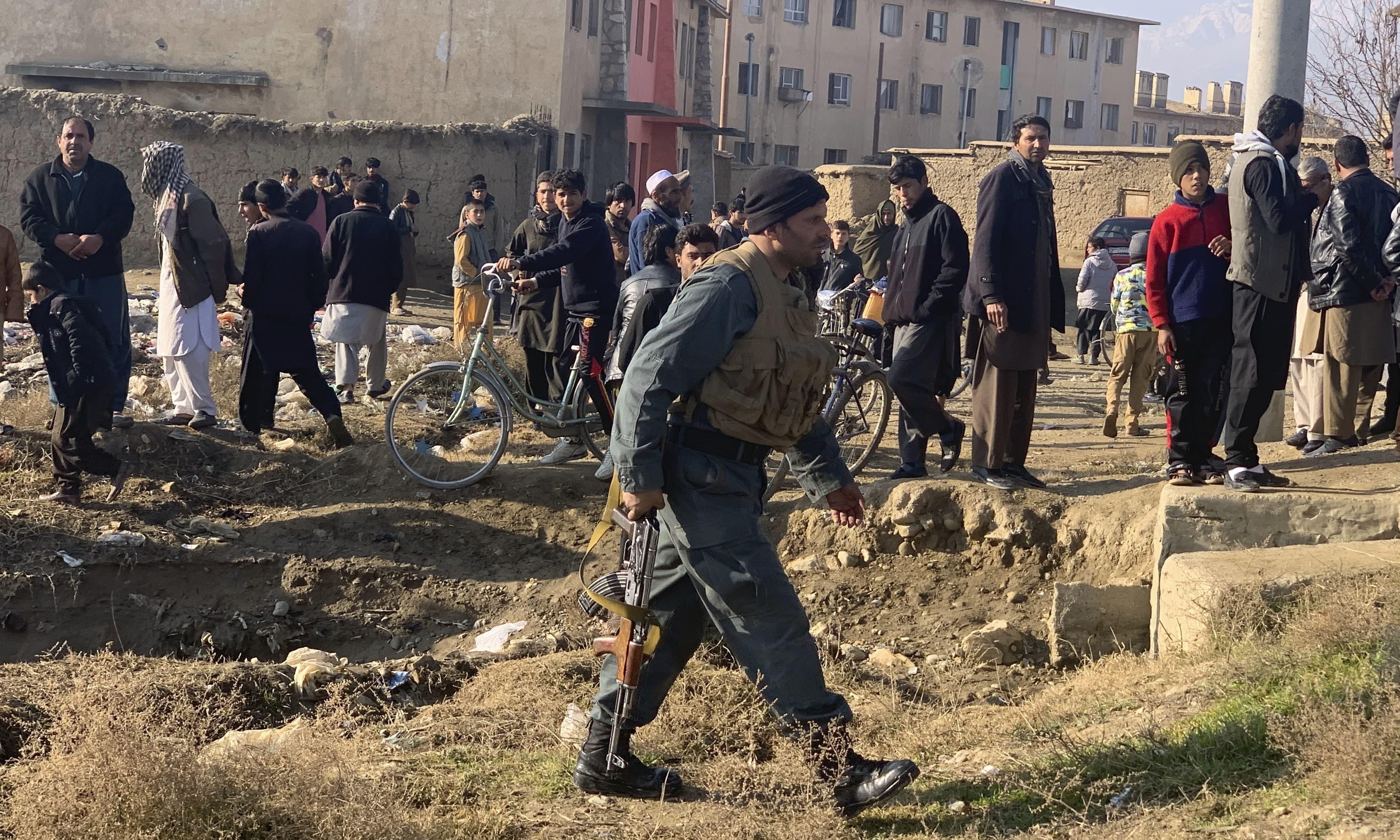 ذبیح اللہ مجاہد نے تمام طالبان کو شدت پسند کارروائیاں روکنے کا حکم دے دیا—فائل فوٹو: اے پی