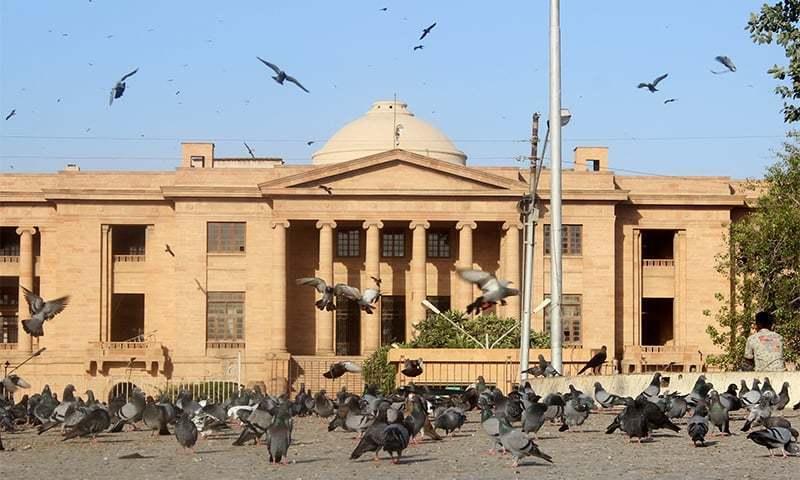 سندھ ہائیکورٹ میں کیس کی سماعت ہوئی—فائل فوٹو: وکی میڈیا کامنز