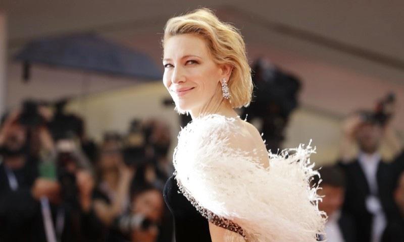 اداکارہ کیٹ بلینچٹ بھی اس سال جیوری کا حصہ ہیں—فائل فوٹو: اے پی