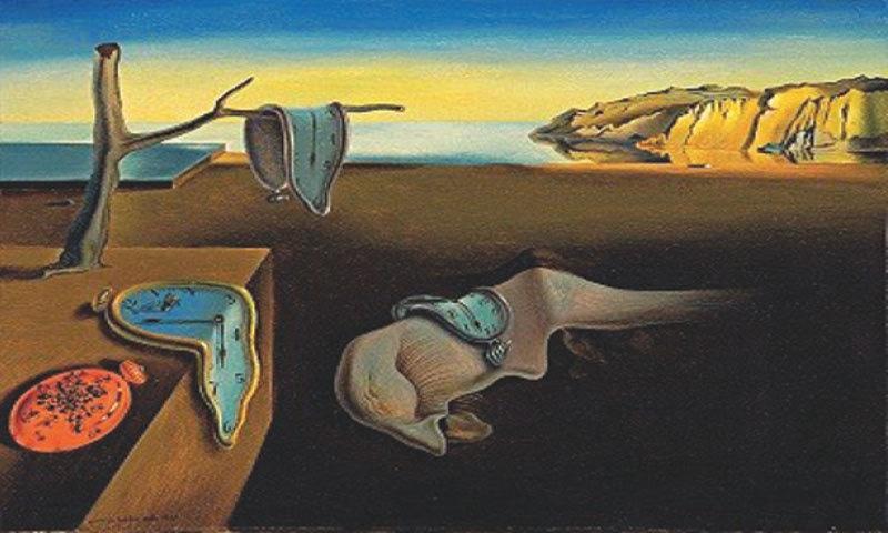 The Persistence Of Memory, Salvador Dali