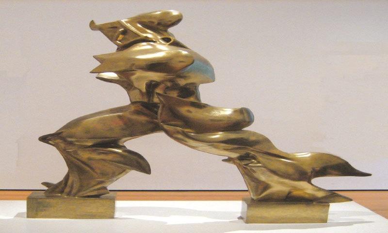 Unique Forms Of Continuity In Space,  Umberto Boccioni