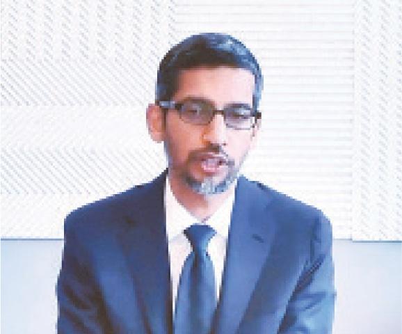Google's Sundar Pichai.—AP