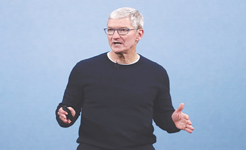 TIM Cook of Apple.—File photo