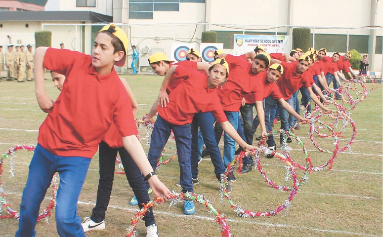 Sports Day activities in a private school | Shahbaz Butt / White Star