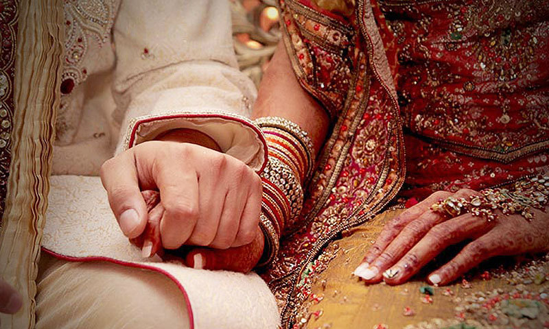 Whilst it is different from forced marriage, many young people face intense pressure to wed and start a family shortly after reaching adulthood. — Faras Ghani/File