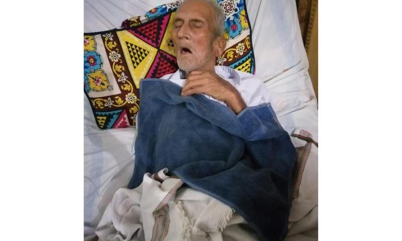 بزرگ قیدی نے لاہور ہائی کورٹ میں قبل از وقت رہائی کے لیے درخواست دی تھی — فوٹو: بشکریہ وکیل مہدی خان
