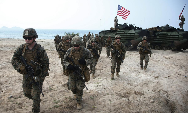 Fifteen Marines and one Navy sailor were aboard an assault amphibious vehicle that began taking on water around 5:45 pm Pacific time on Thursday, a Marine Corps statement said. — AP/File