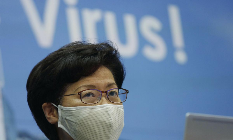 Chief executive Carrie Lam, a pro-Beijing appointee, announced that September elections for the financial hub's legislature would be delayed for a year using emergency anti-virus powers. — AP