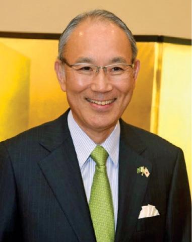 Japanese Ambassador Matsuda Kuninori.