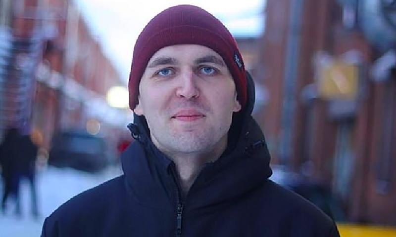 30 سالہ گلوکار کا تعلق یوکرین سے تھا—فوٹو:بشکریہ ڈیلی میل