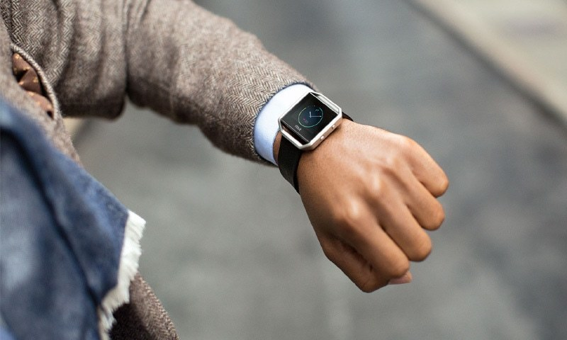 Google announced it had reached agreement to buy Fitbit, which produces wearable fitness trackers and watches that communicate with a health monitoring app. — fitbit.com/File