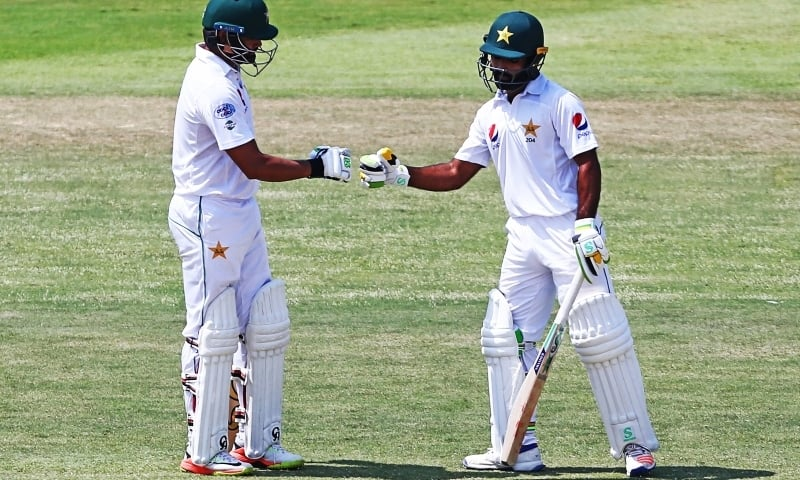 Skipper Azhar Ali and Asad Shafiq are the two most experienced pros in the current Pakistan squad touring England. — AFP/File