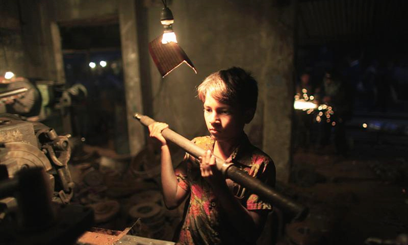 ILO estimates that there are 152 million youngsters under the age of 18 around the world in child labour. — Reuters/File
