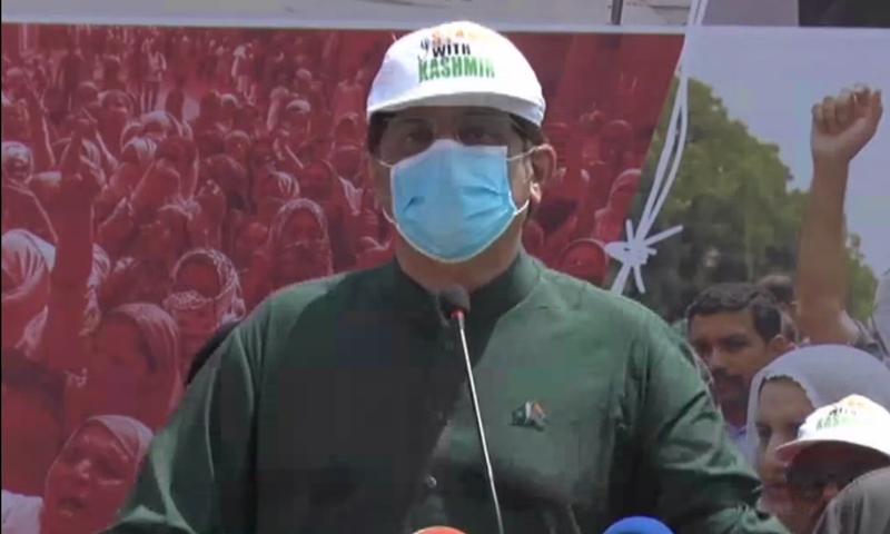 Sindh Chief Minister Murad Ali Shah. — DawnNewsTV